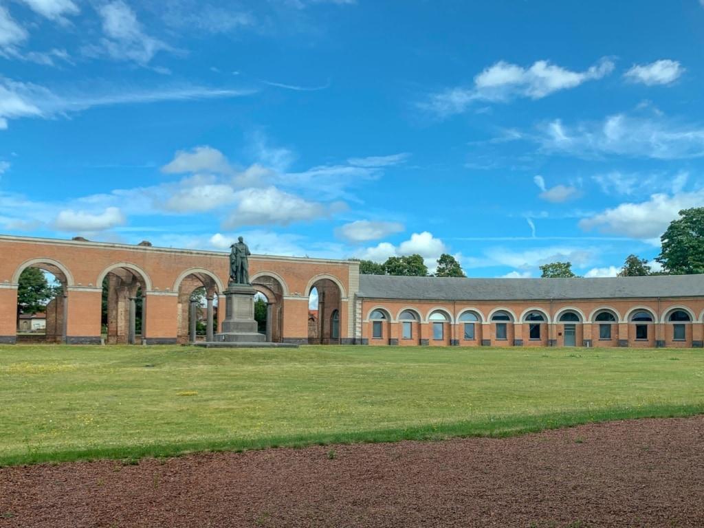 Unesco-Welterbestätte Grand Hornu in Belgien