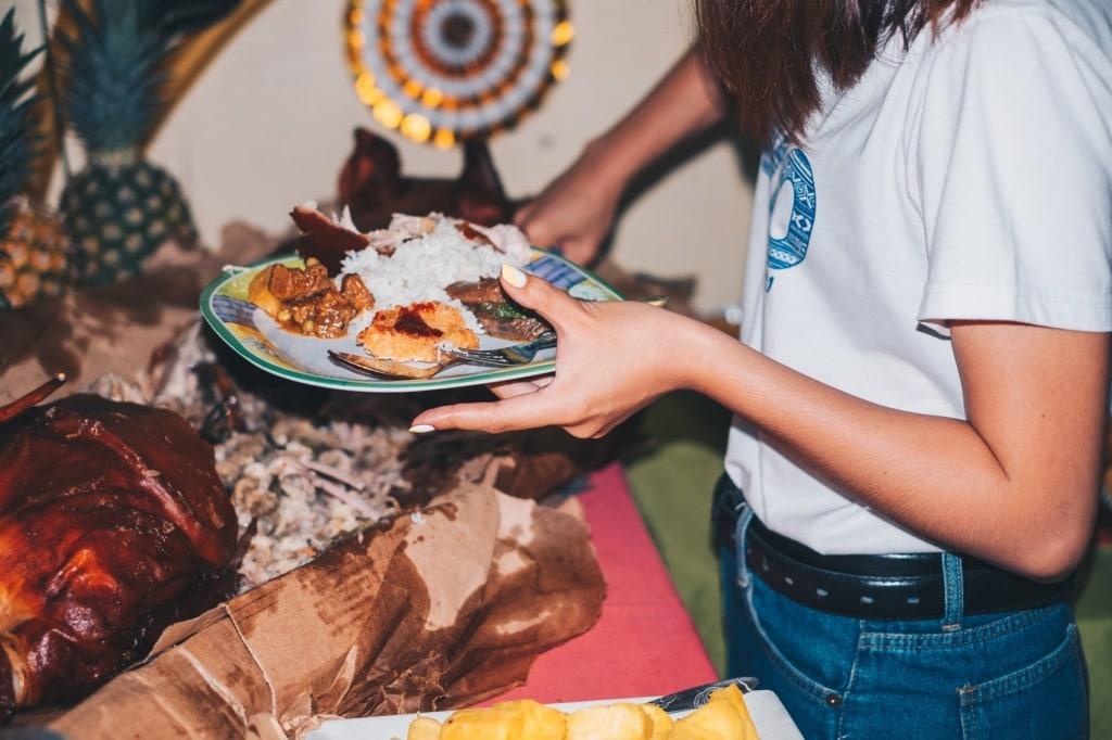 Auf den Philippinen gehört zu jedem Weihnachtsfest viel Essen.