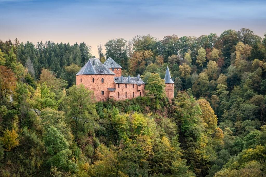 Burg Reinhardstein in der Wallonie