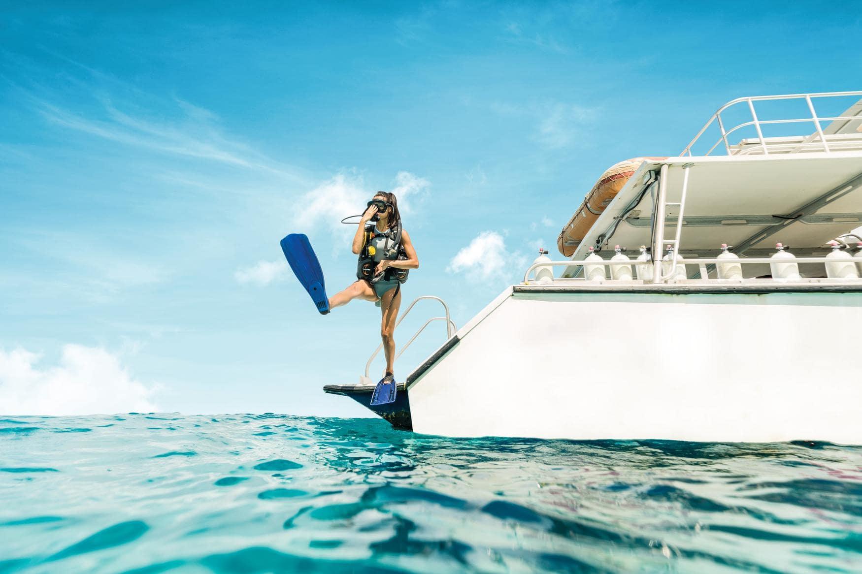 Schnorcheln zählt zu den spannendsten Aktivitäten auf den Bahamas