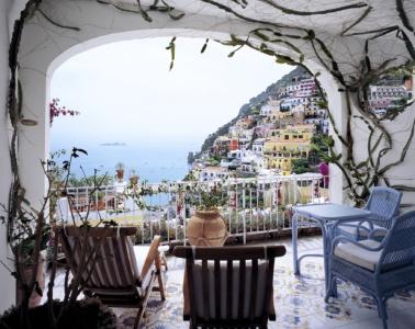 Blick vom Balkon des Le Sirenuse
