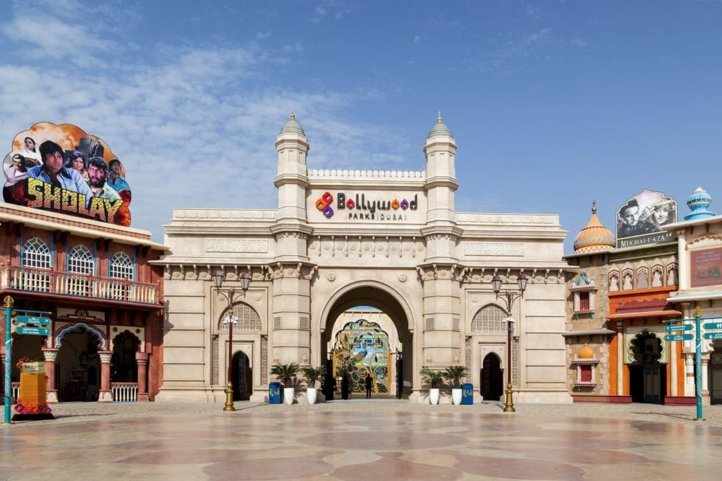 Eingang des Bollywood-Parks in Dubai