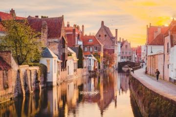 Kanal in der Altstadt von Brügge