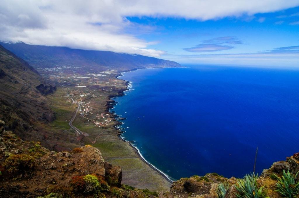 Luftaufnahme von El Hierro