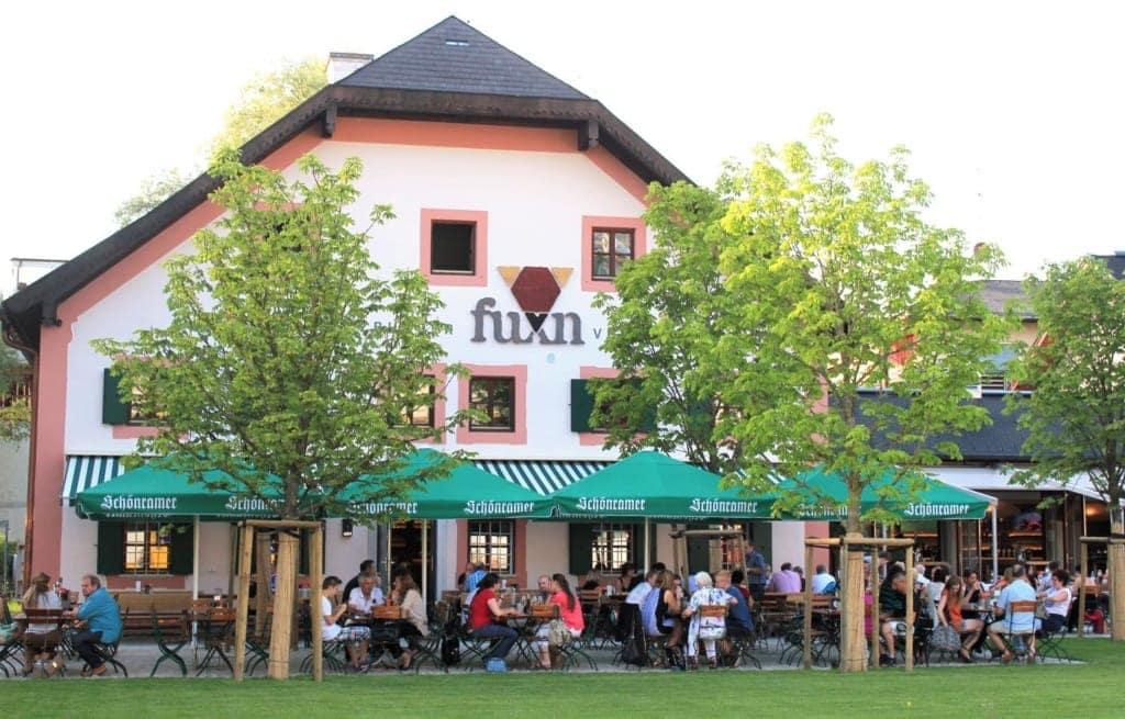Biergarten Fuxn in Salzburg