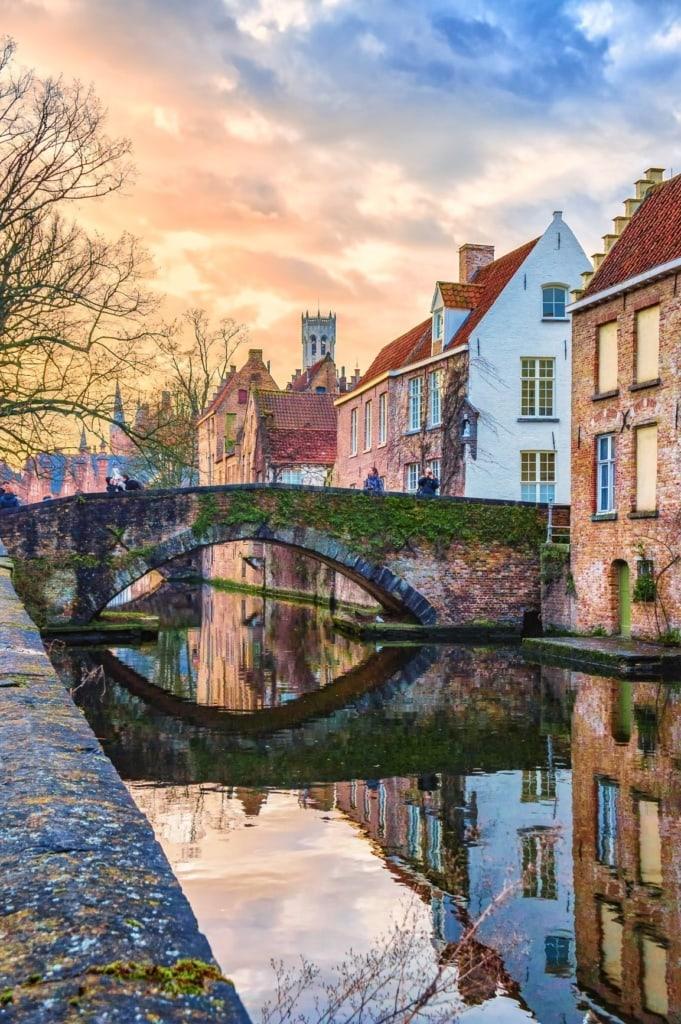 Groenerei-Kanal in Brügge