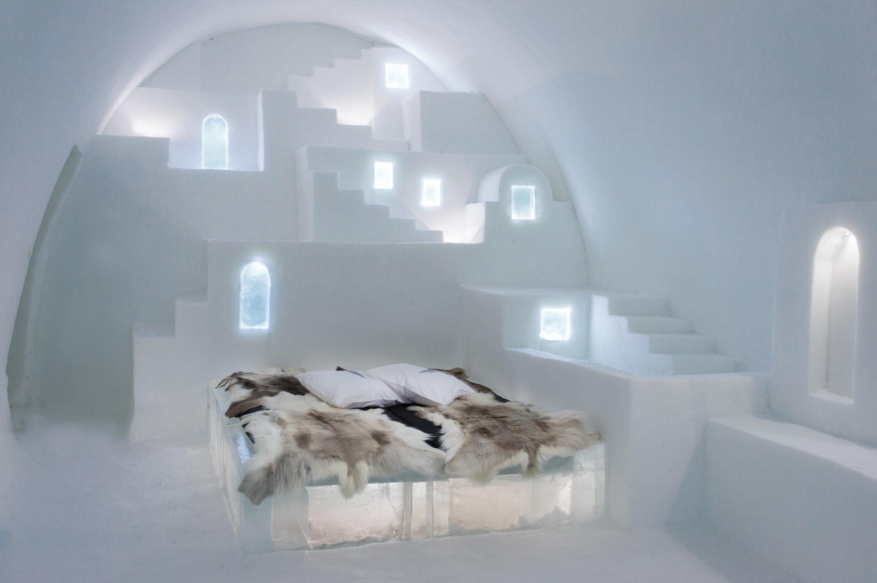 Icheotel Zimmer mit Bett