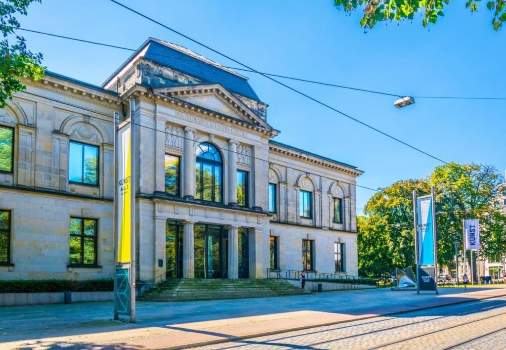 Fassade der Kunsthalle Bremen