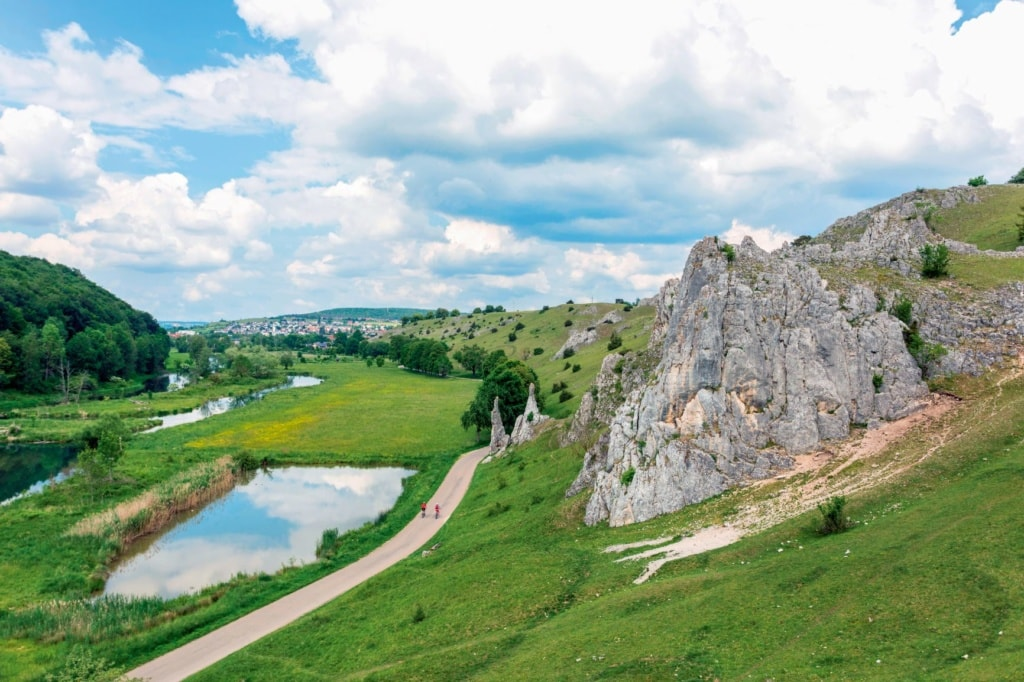 Fahrradtouren in Deutschland: Strecke entlang der Brenz