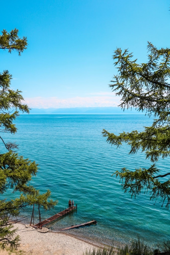 Strand am Baikalsee