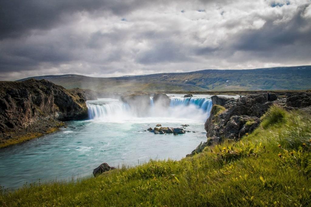 Wasserfall Goðafoss in Island