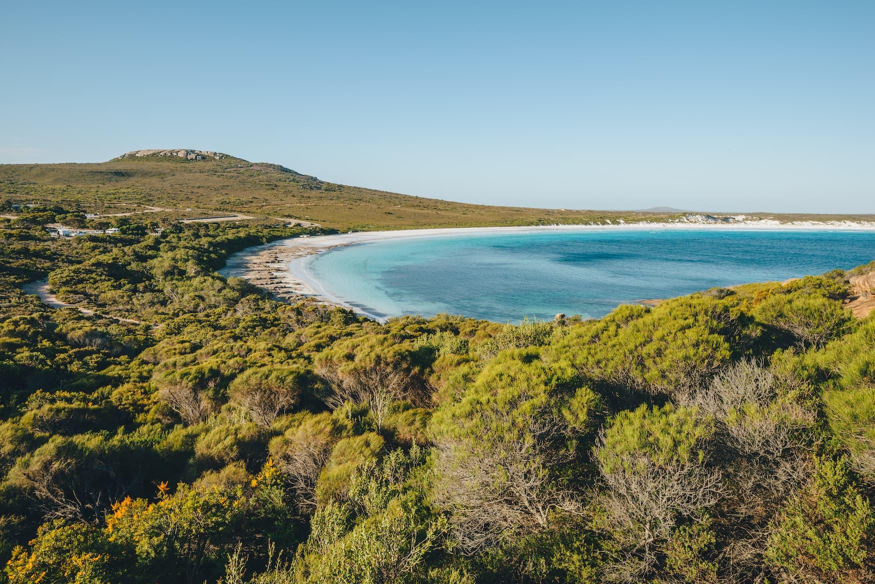 Nationalparks Westaustralien: Lucky bay