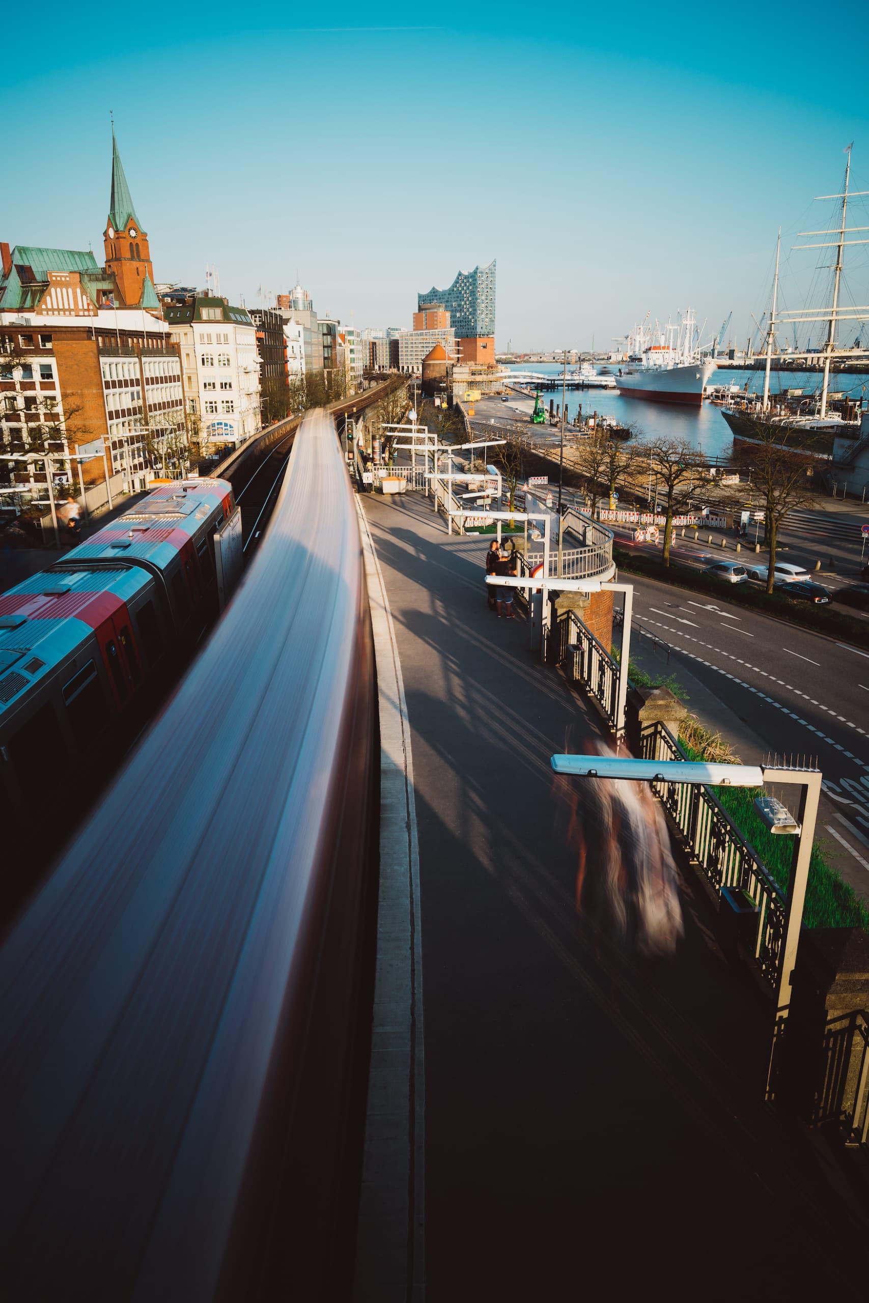 Öffentliche Verkehrsmittel in Hamburg, nachhaltige Städte in Europa