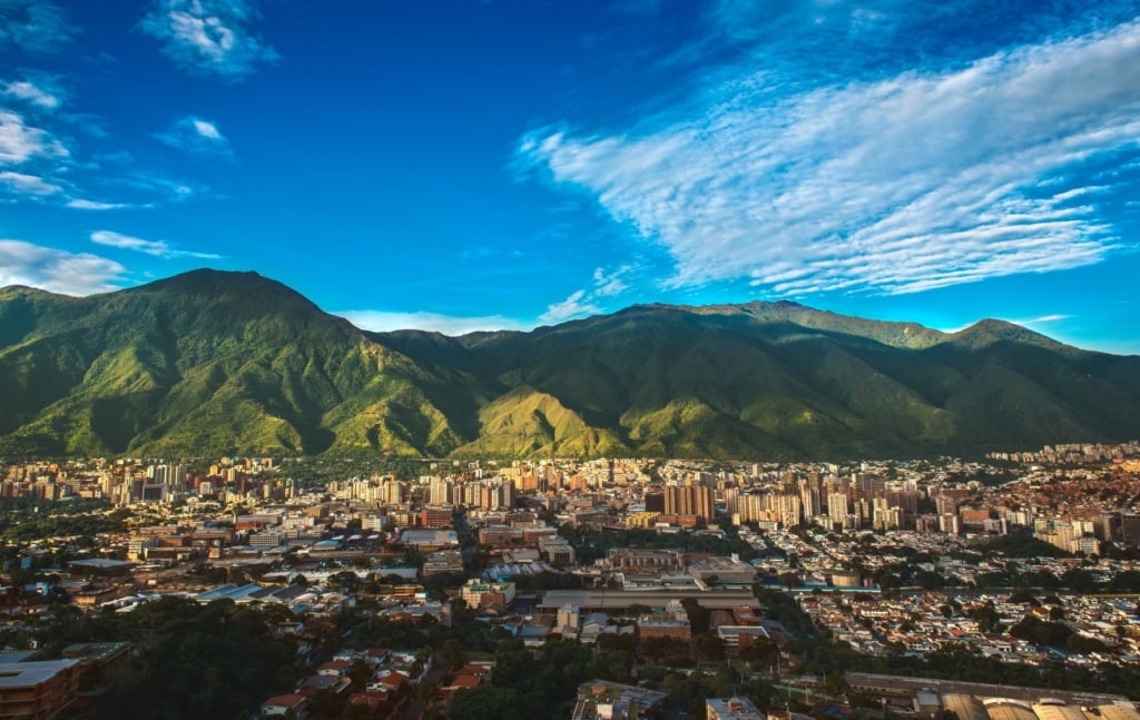 Panorama von Caracas, Venezuela