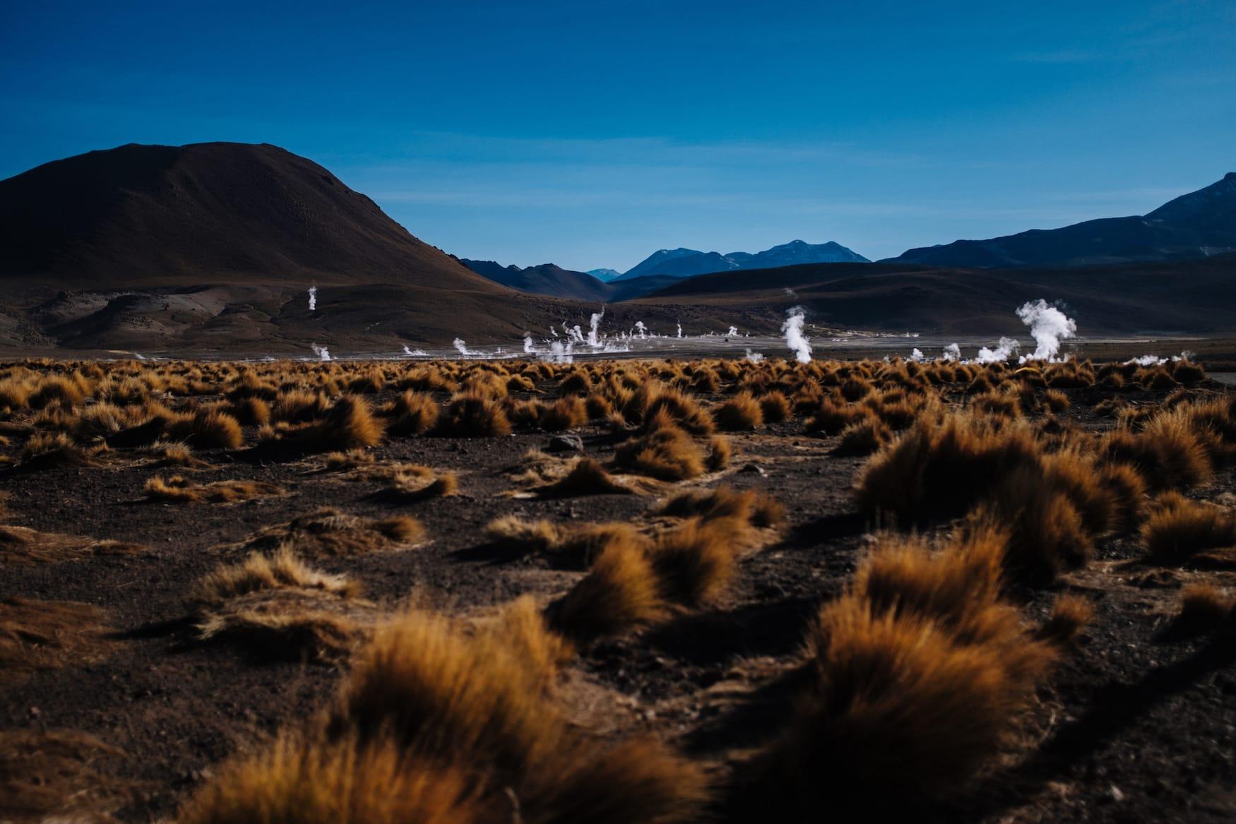 Geysire in Atacama