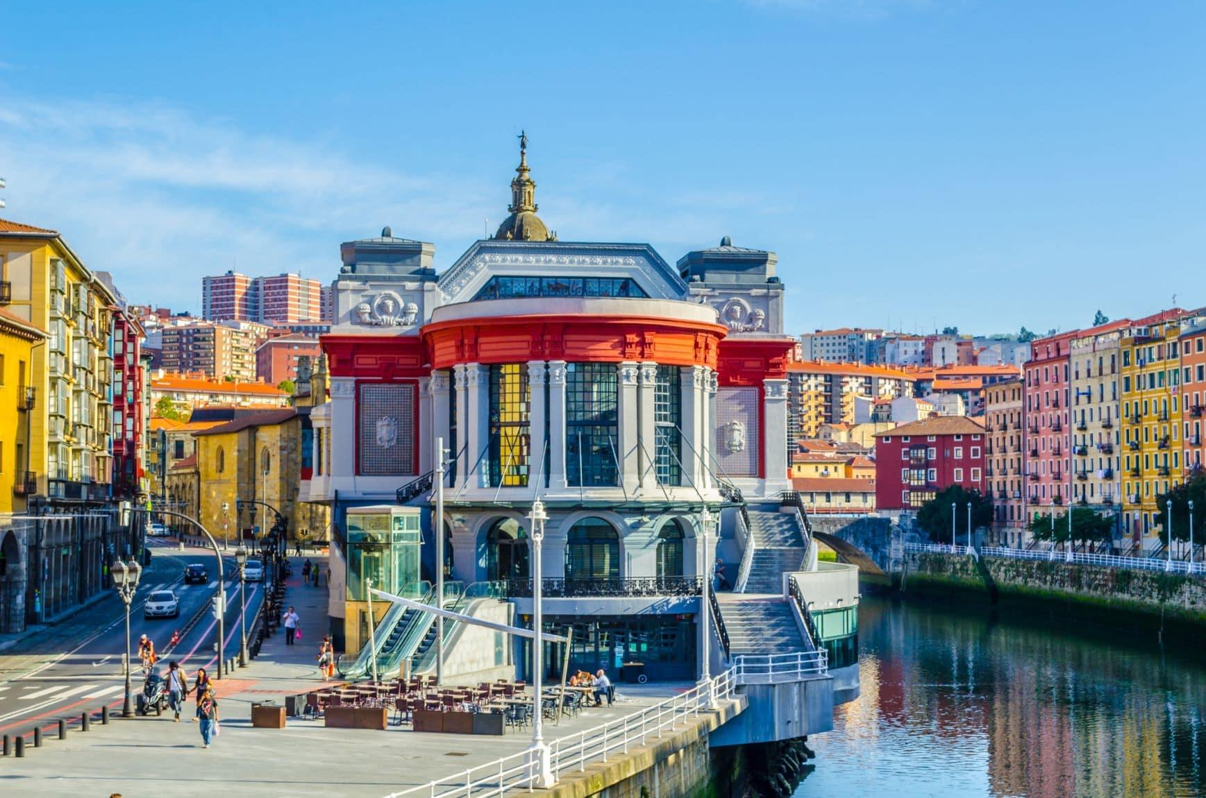 Mercado de La Ribera in Bilbao