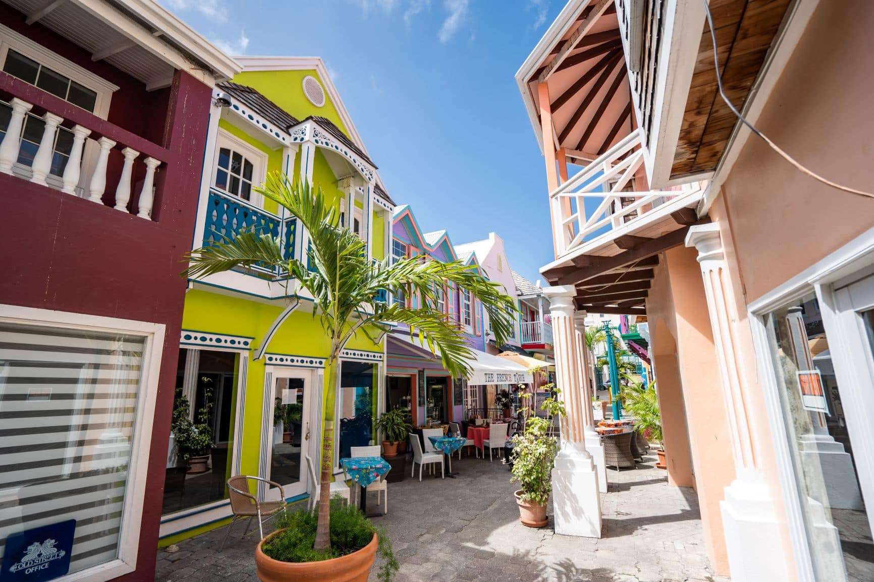 Philipsburg auf St. Maarten