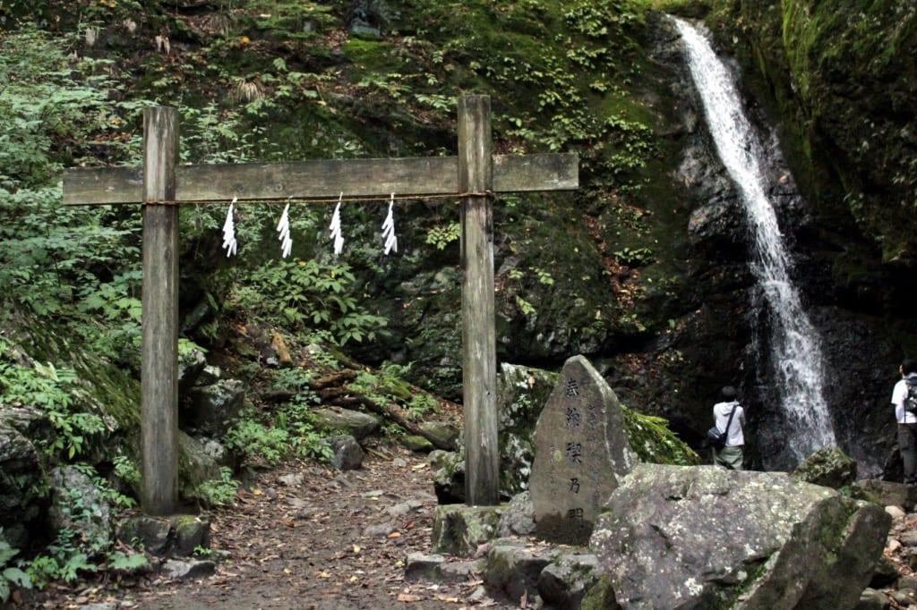 Wasserfall am Mount Mitake