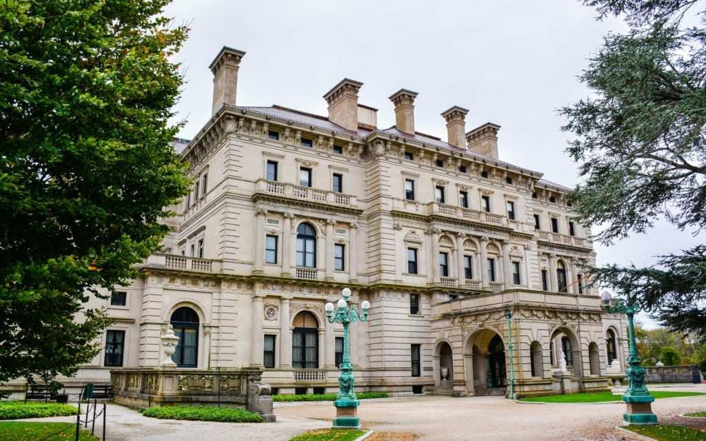 The Breakers, Vanderbit Museum, in Rhode Island