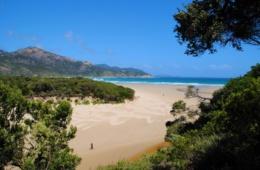 Strand in Victoria, Australien
