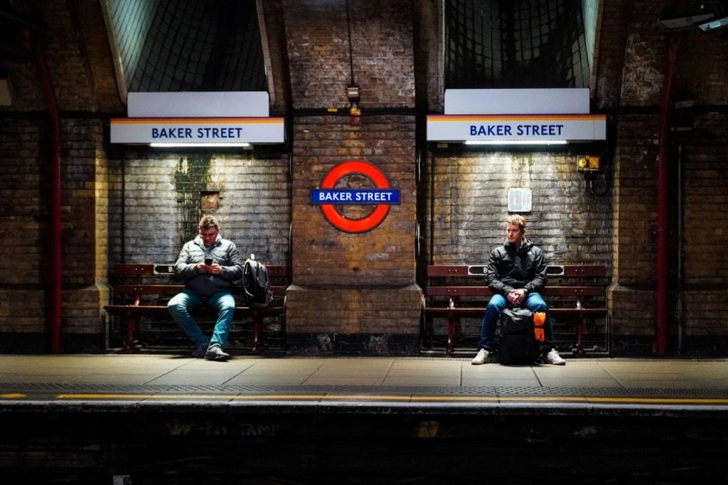 U-Bahnhof Baker Street London