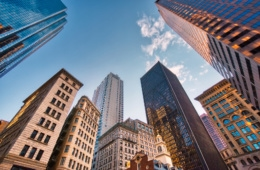 Finanzviertel in Boston, USA