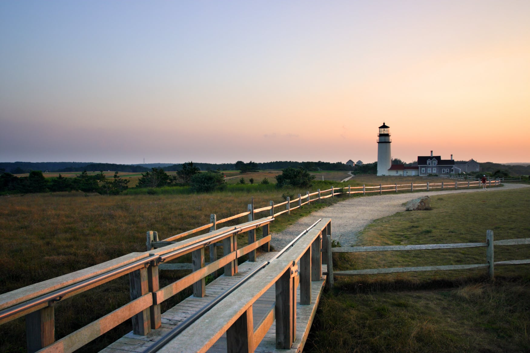 Race Point Light ist ein historischer Leuchtturm auf Cape Cod, Massachusetts