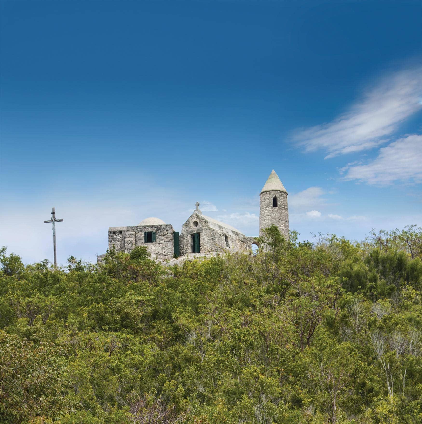 Historisches Kloster auf Cat Island in den Bahamas
