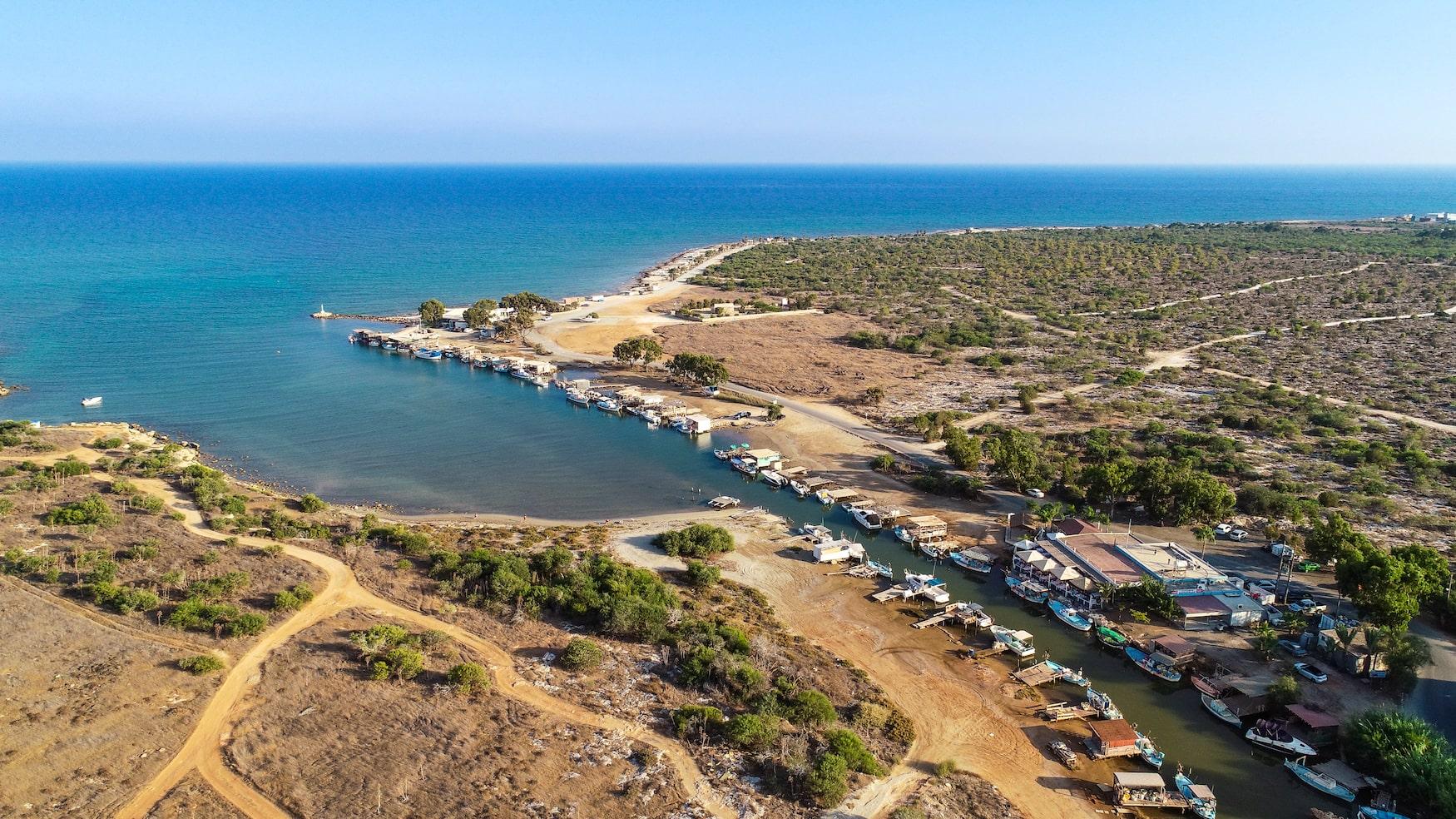 Küste von Kokkinochoria, Zypern