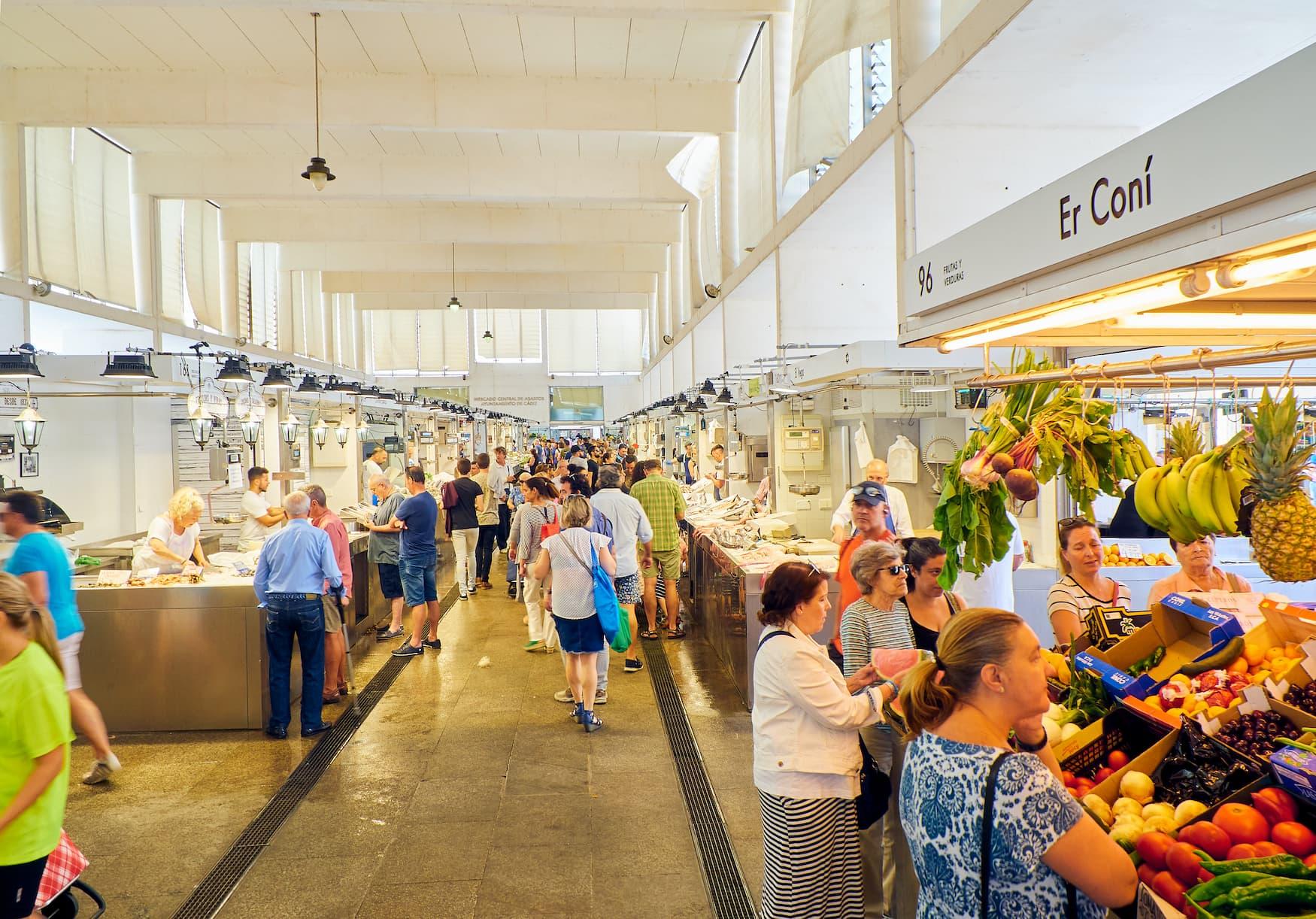 Mercado de Abastos - Markthalle im spanischen Cadiz