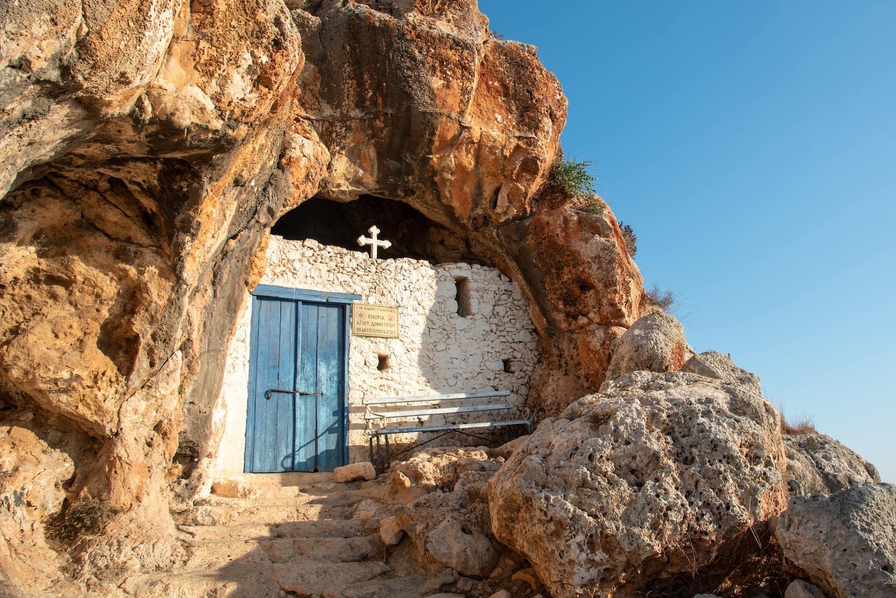 Kapelle der Kirche in Protaras, Zypern