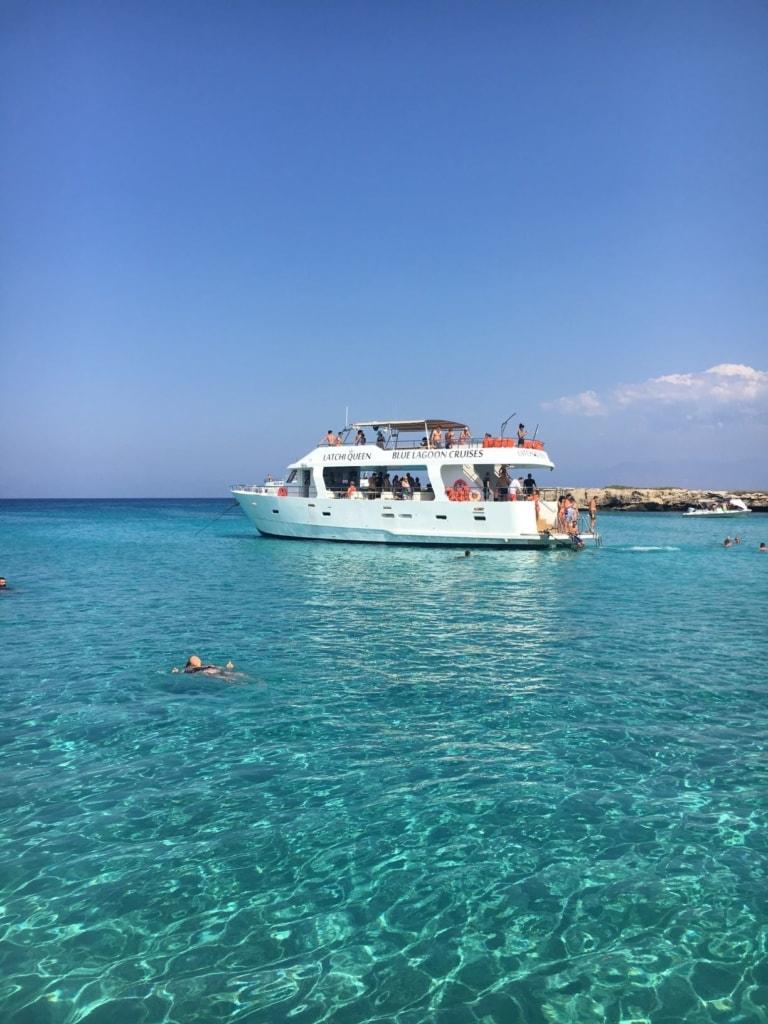 Schiffstour in Zypern