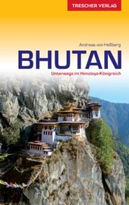 """Cover des Reiseführers """"Bhutan. Unterwegs im Himalaya-Königreich"""""""