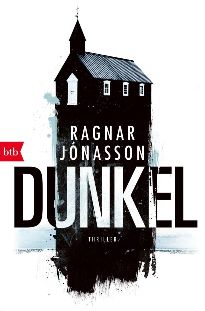 """Cover des Buches """"Dunkel"""" von Ragnar Jonason"""