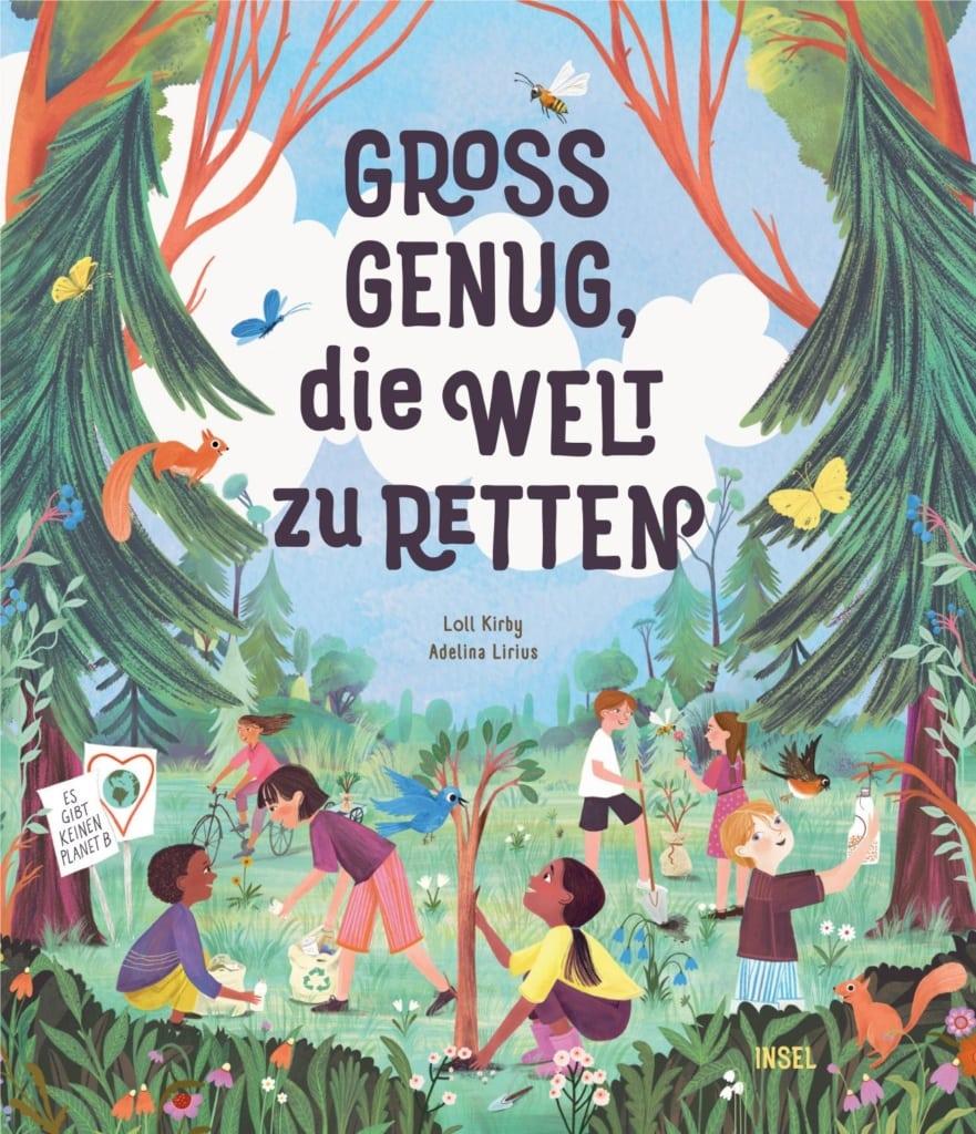 """Cover des Buches """"Groß genug, die Welt zu retten"""""""