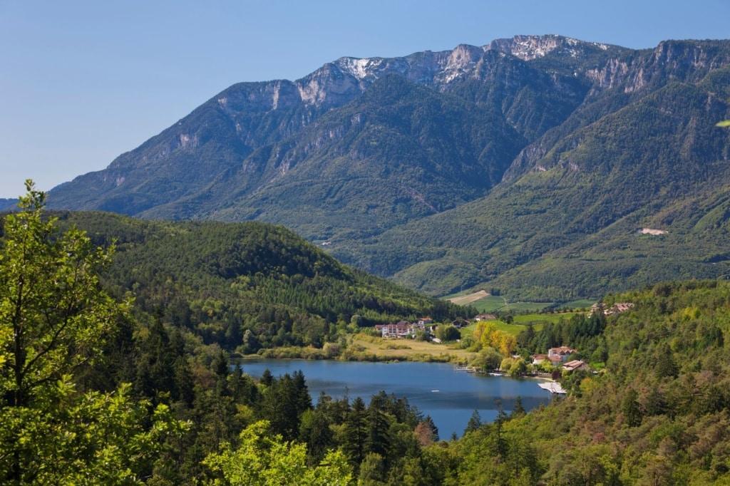 Montigller See in Südtirol