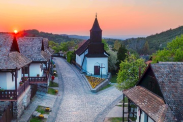 Gemeinde Holloko im Kreis Szécsény in Ungarn