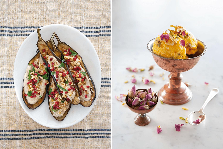 Zwei Rezepte aus dem Kochbuch Pardiz, einem Gewinner der ITB Buch Awards 2021