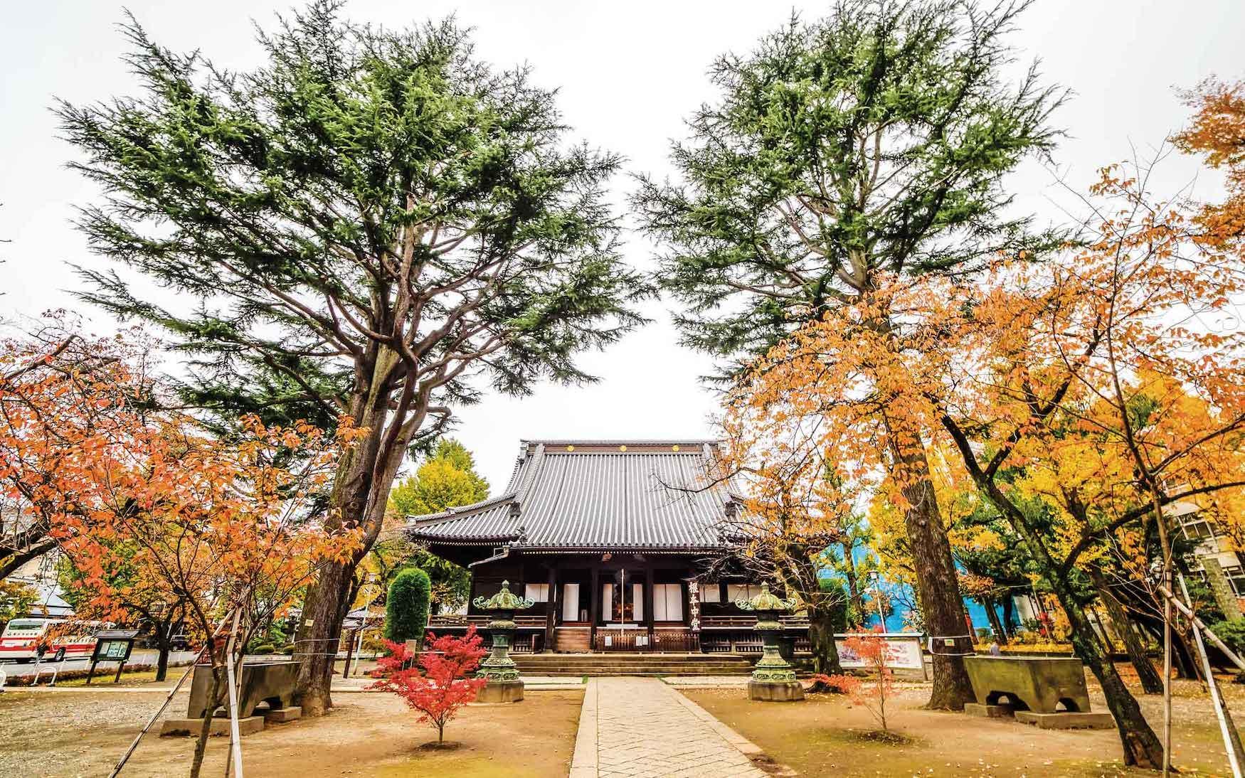 Tempel in Tokio, Japan