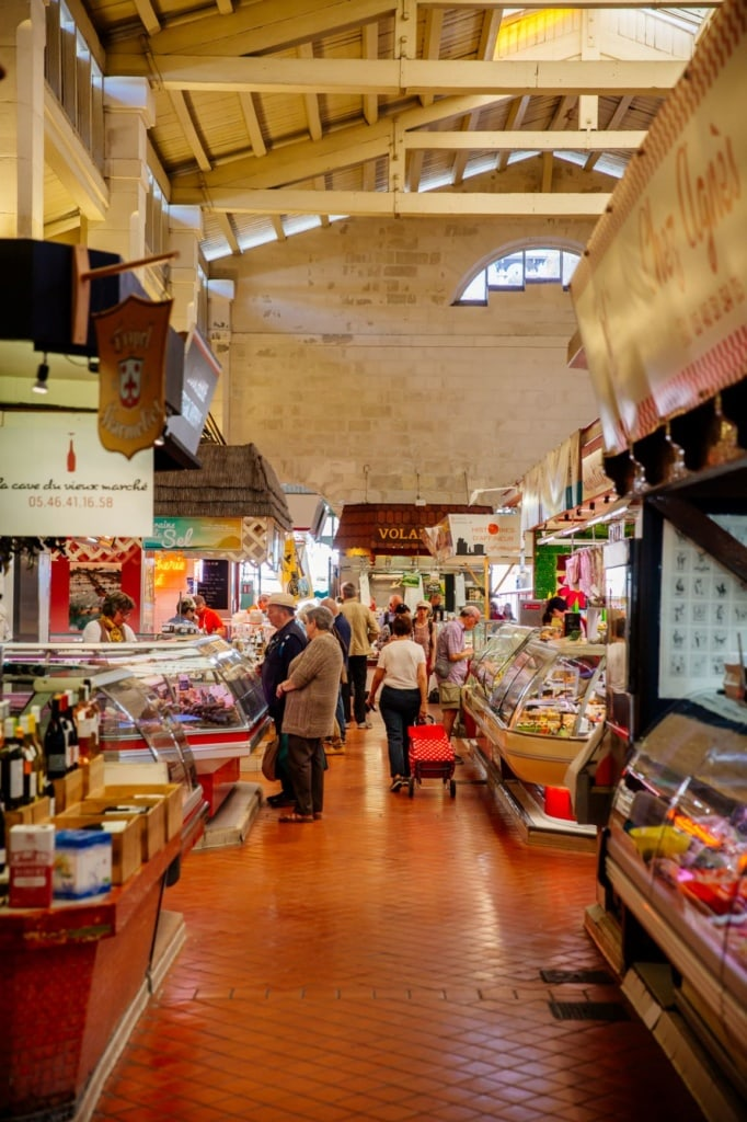 Marché Central in La Rochelle