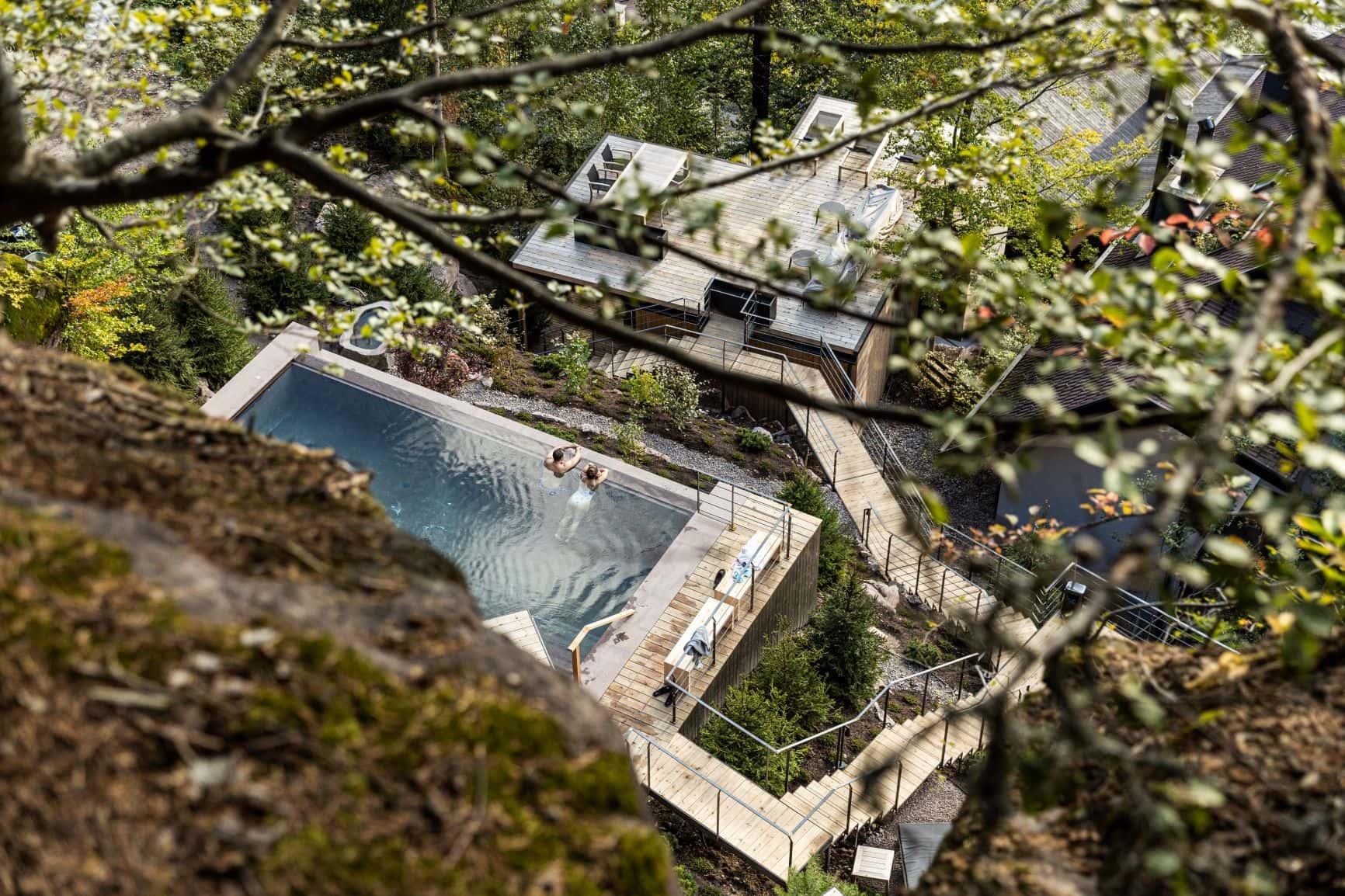 Miramonti Boutique Hotel aus der Vogelperspektive