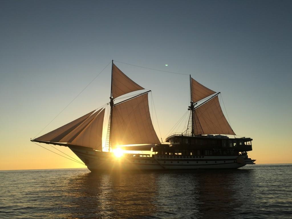 Die Prana by Atzaro ist eines der schönsten Segelboote der Welt.