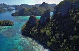 Ein Naturschauspiel der besonderen Art erwartet Besucher in Raja Ampat in West-Papua.