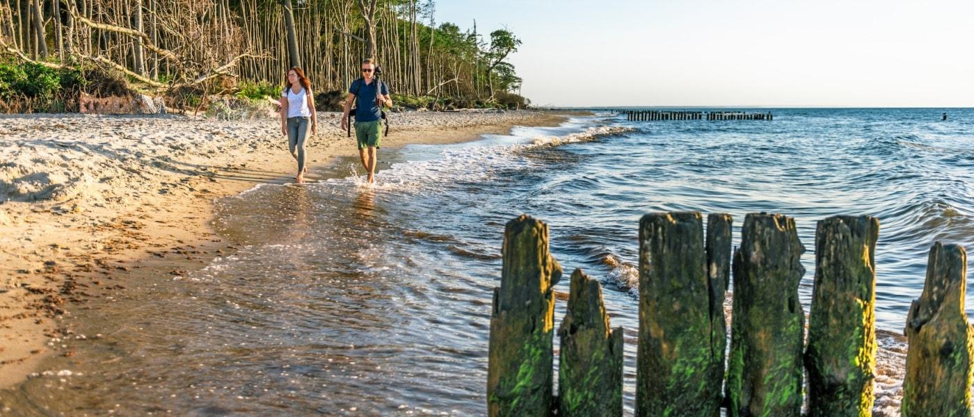 Das Licht macht's – und präsentiert den Strand zwischen Graal-Müritz und Rostock in immer neuen Stimmungen. | TMV/Tiemann