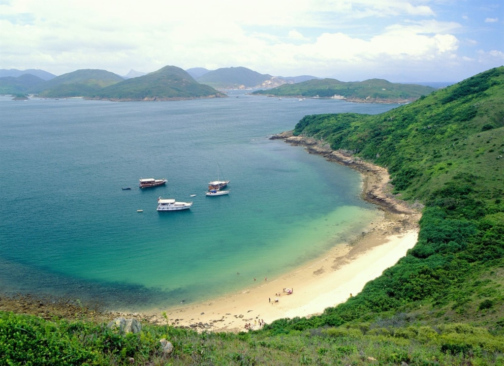 Wandern in Hongkong: Strand Sai Kung