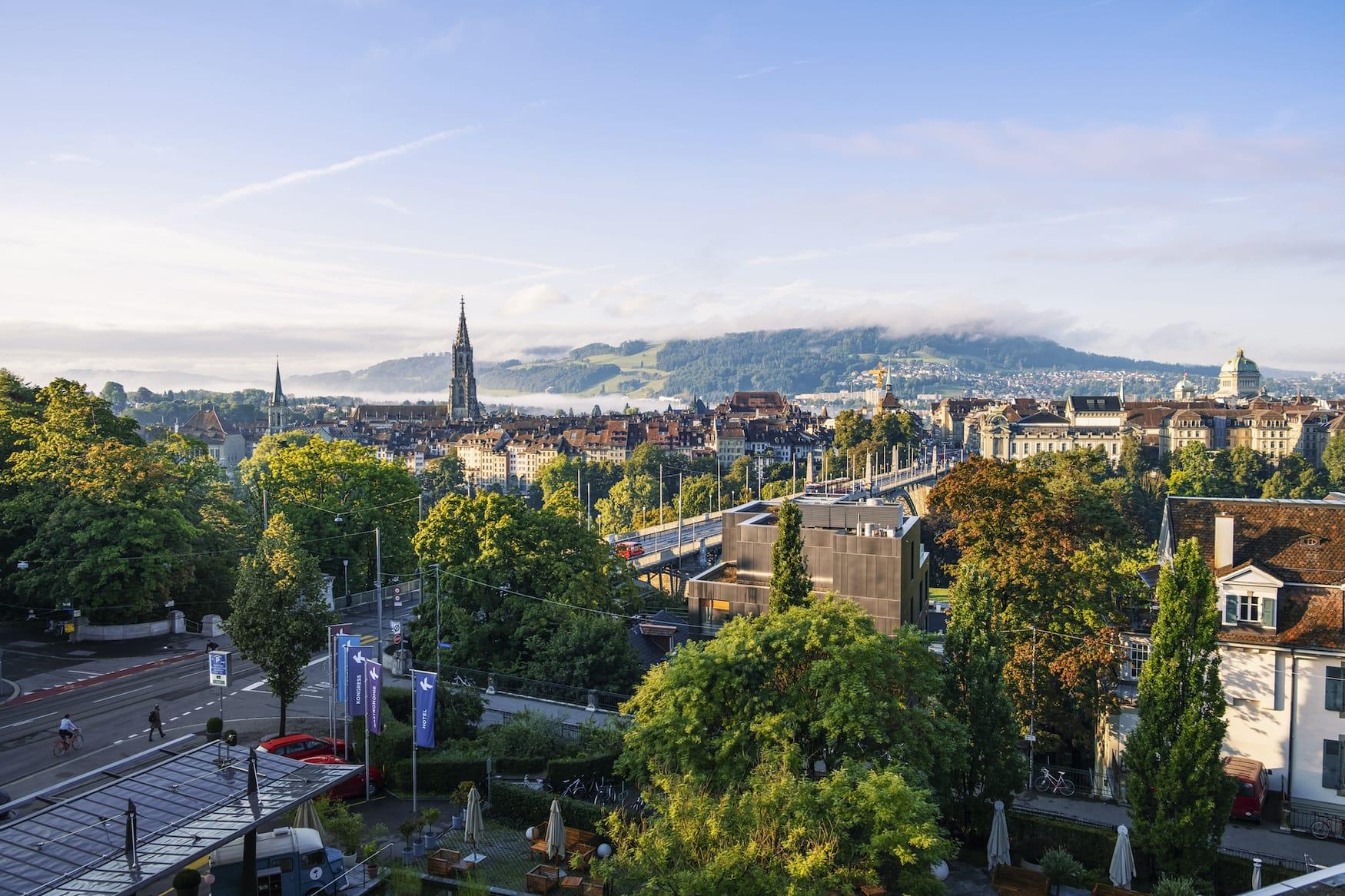 Aussicht auf Bern
