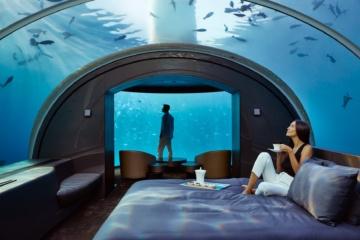 Unterwasser-Suite The Muraka im Conrad Malediven Rangali Island