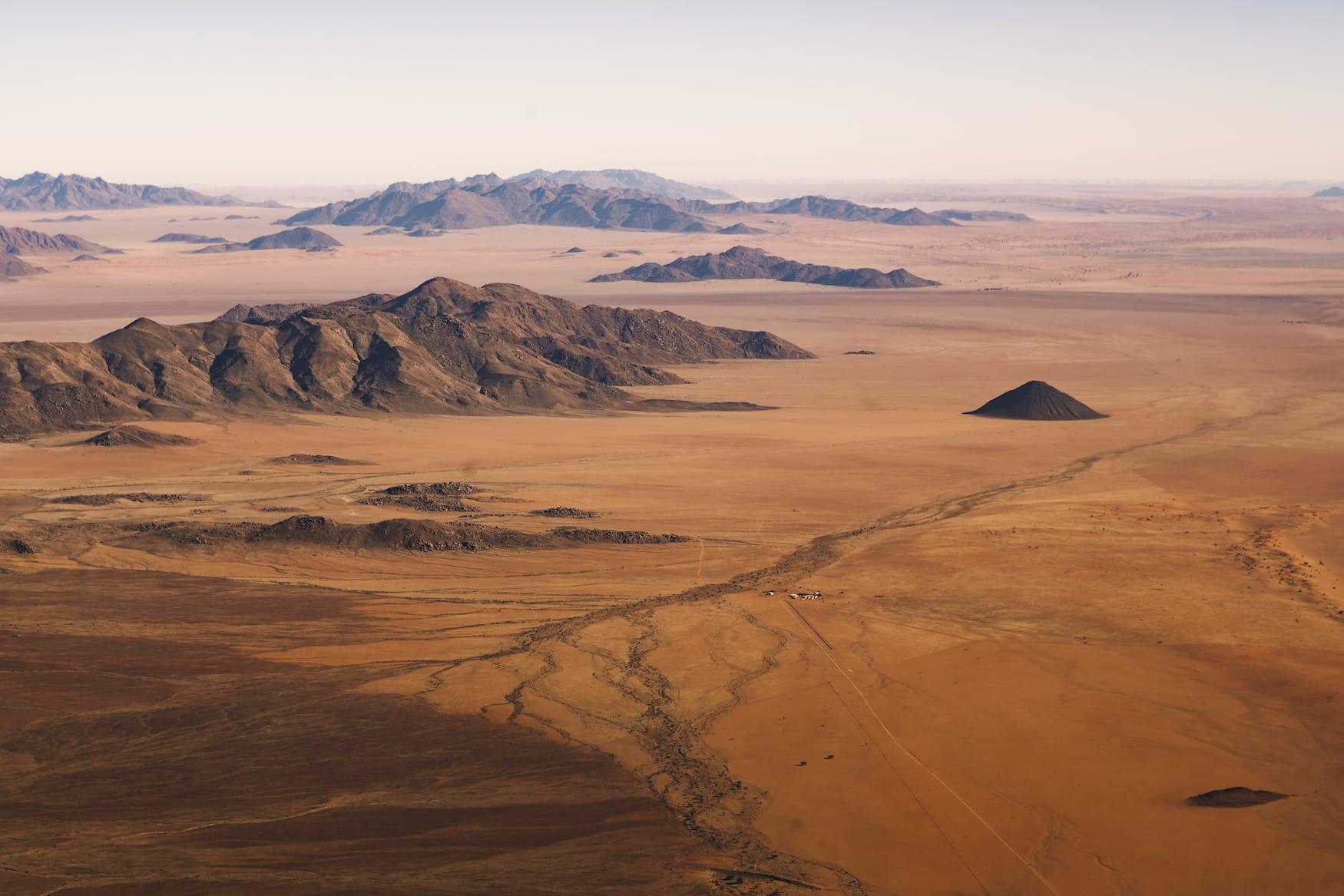 Rote Namib-Wüste in Namibia