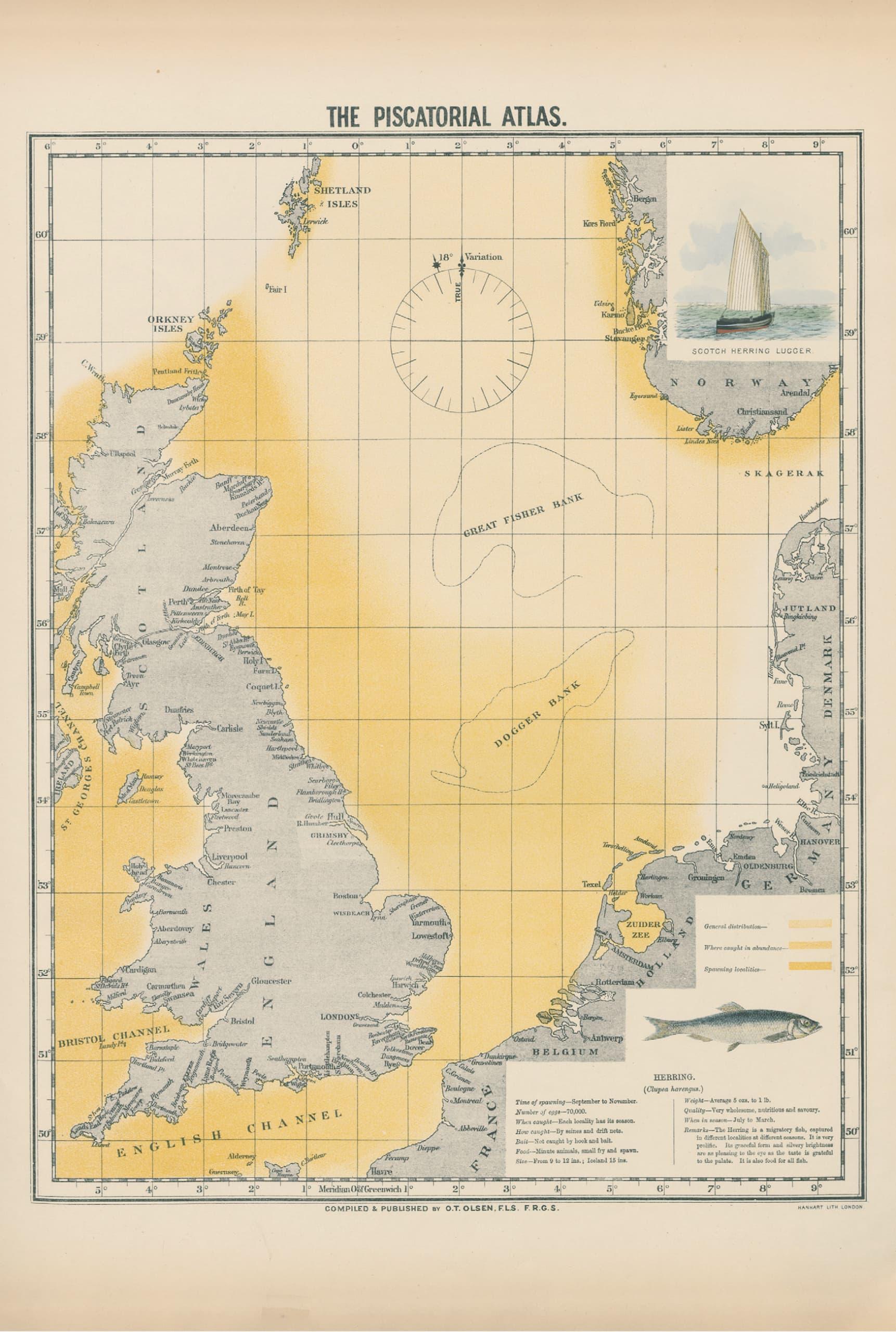 Atlas der Nordsee aus Karten.Meere, Gewinner der ITB Buch Awards