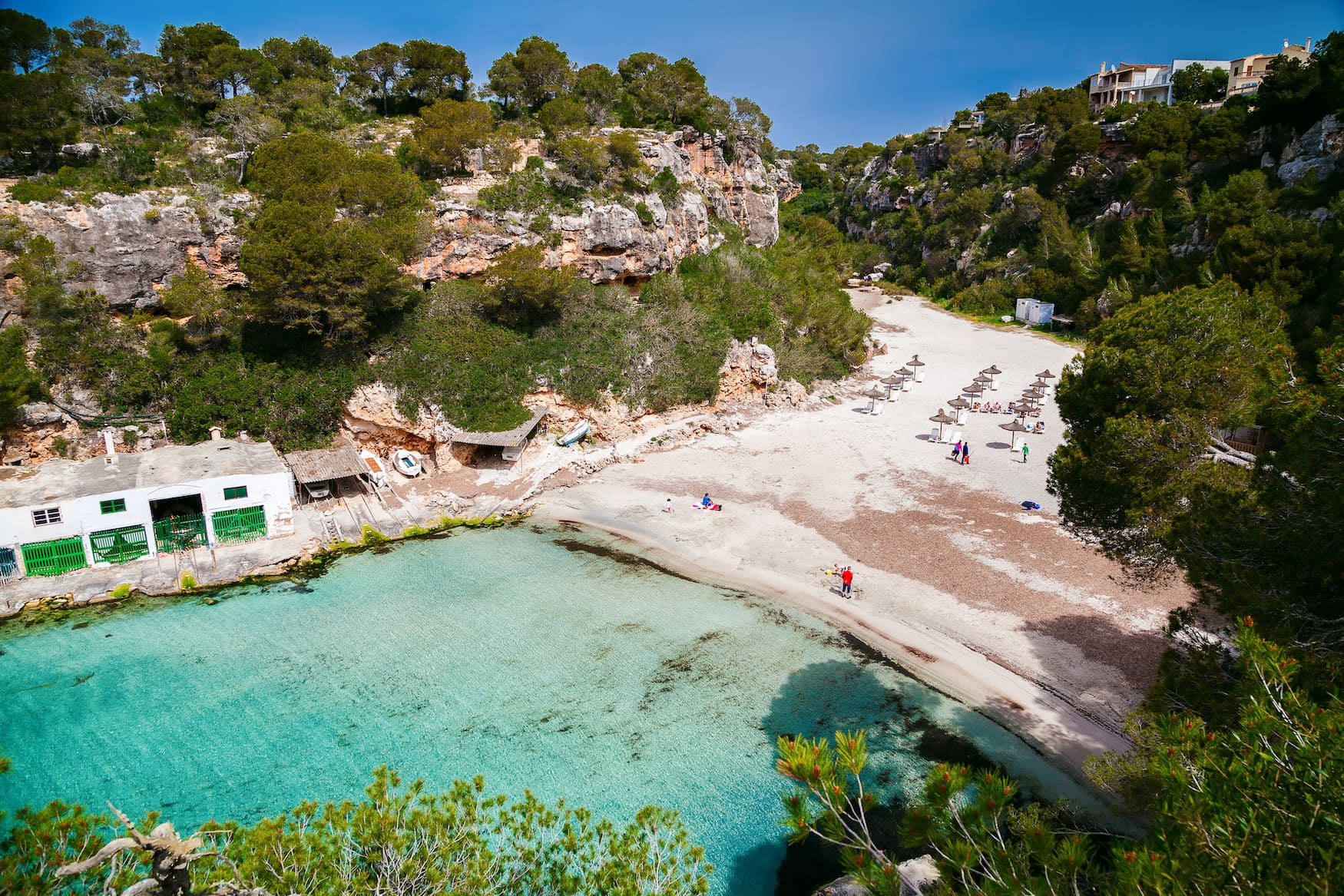 Badebucht Cala Pi auf Mallorca